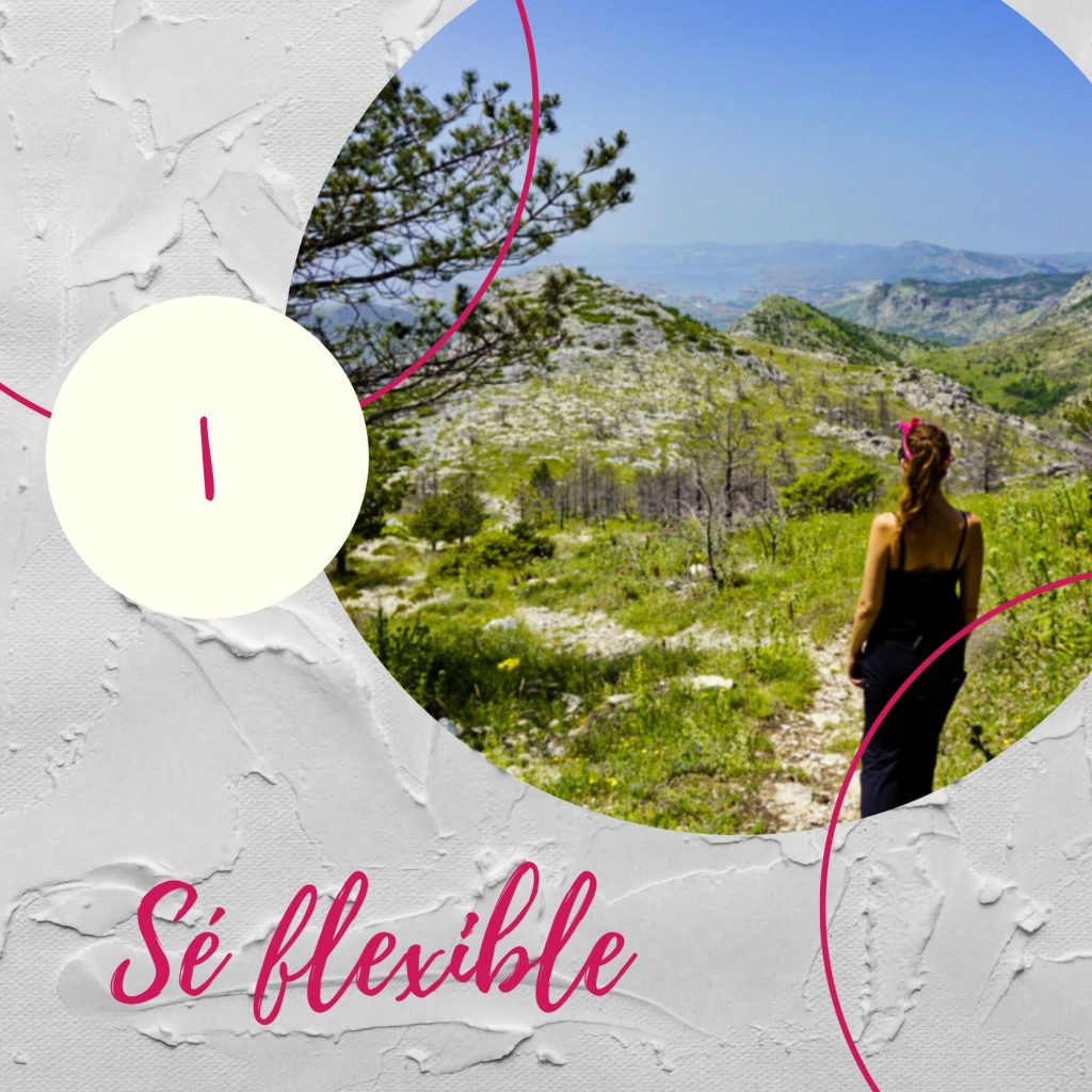 Sé flexible - Experiencing the Globe