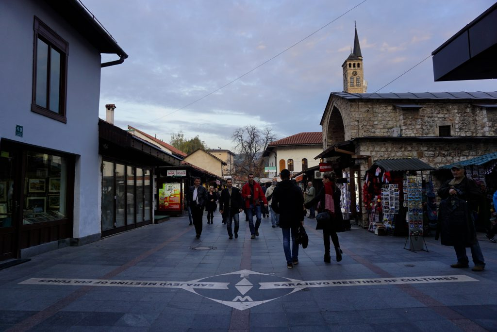 Sarajevo, meeting of cultures, East, Bosnia and Herzegovina