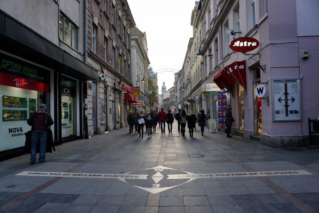 Sarajevo, meeting of cultures, West, Bosnia and Herzegovina