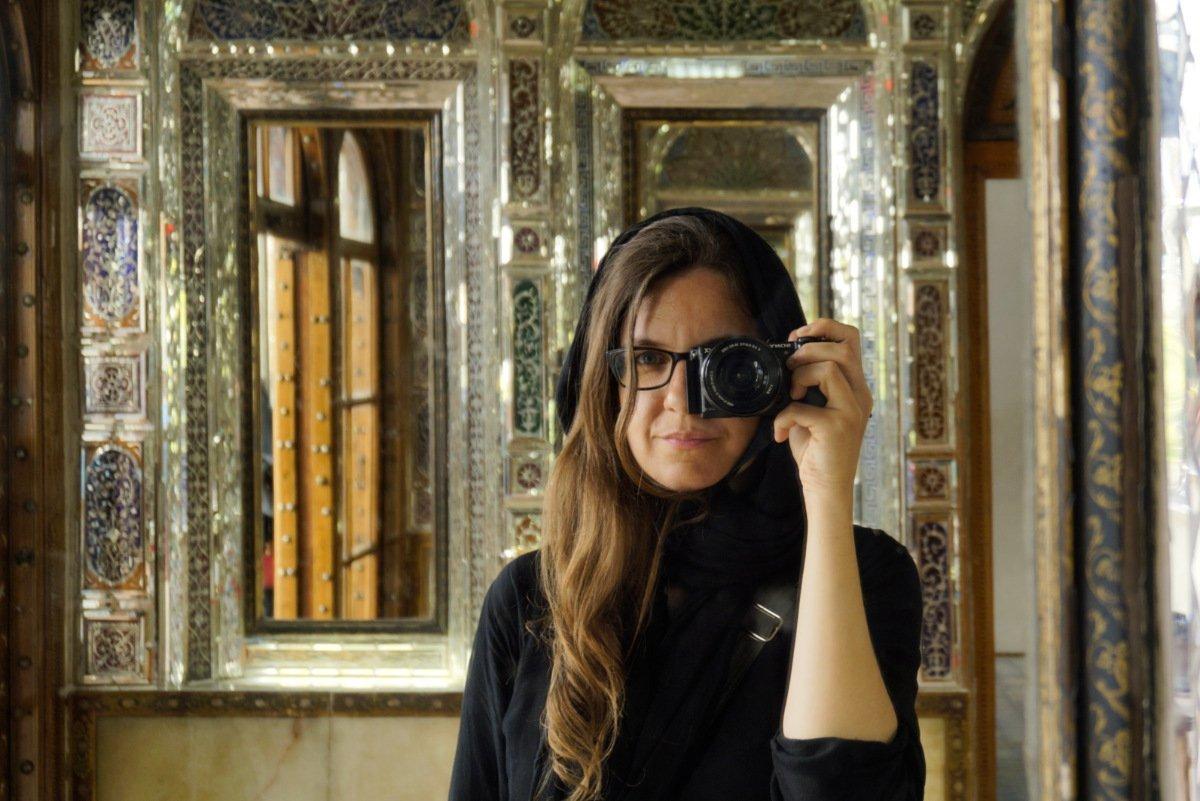 Self portrait, Shiraz, Iran - Experiencing the Globe