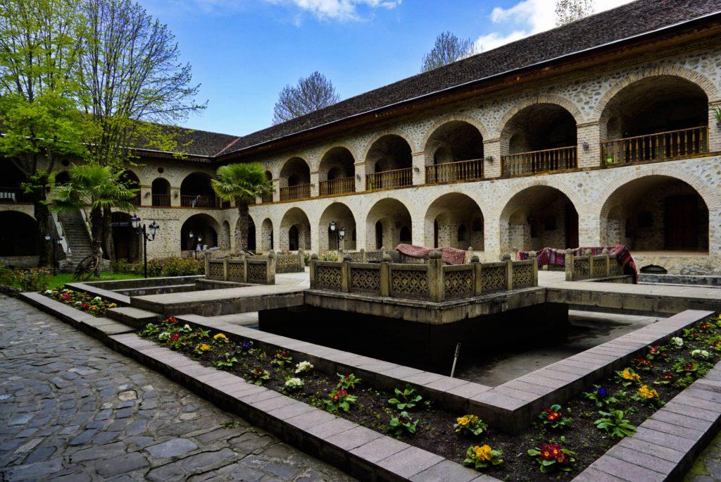 Sheki caravanserai, Azerbaijan