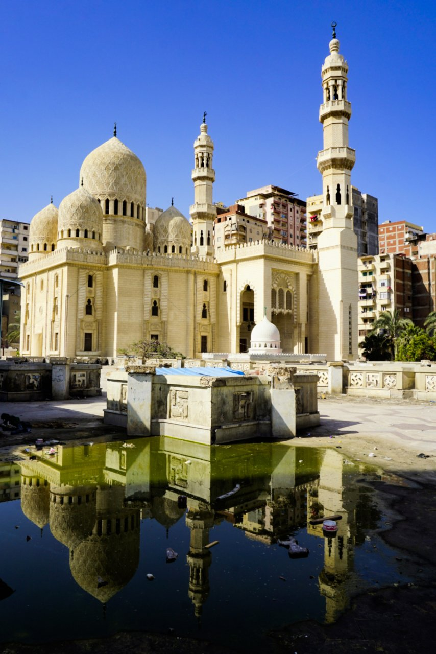 Sidi Abo El Abbas El Morsi Mosque, Alexandria, Egypt - Experiencing the Globe