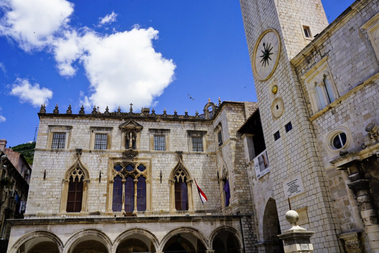 Sponza Palace and City Bell Tower, Dubrovnik, Croatia - Experiencing the Globe