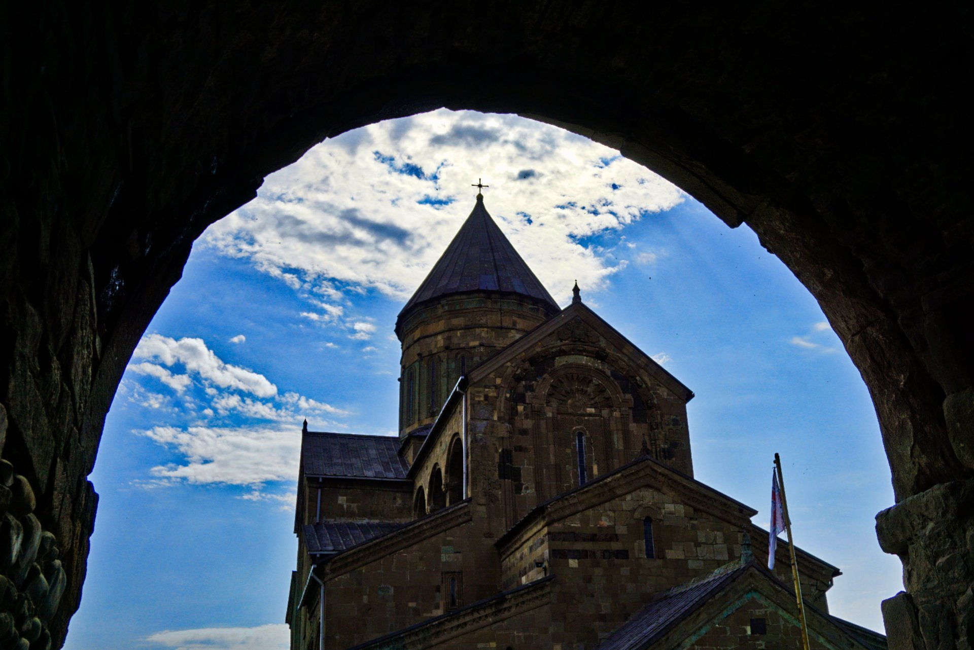 Svetitskhoveli Cathedral, Mtskheta, Georgia – Experiencing the Globe