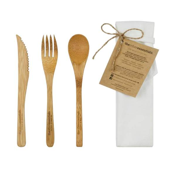 The Other Straw - Bamboo Cutlery Pack