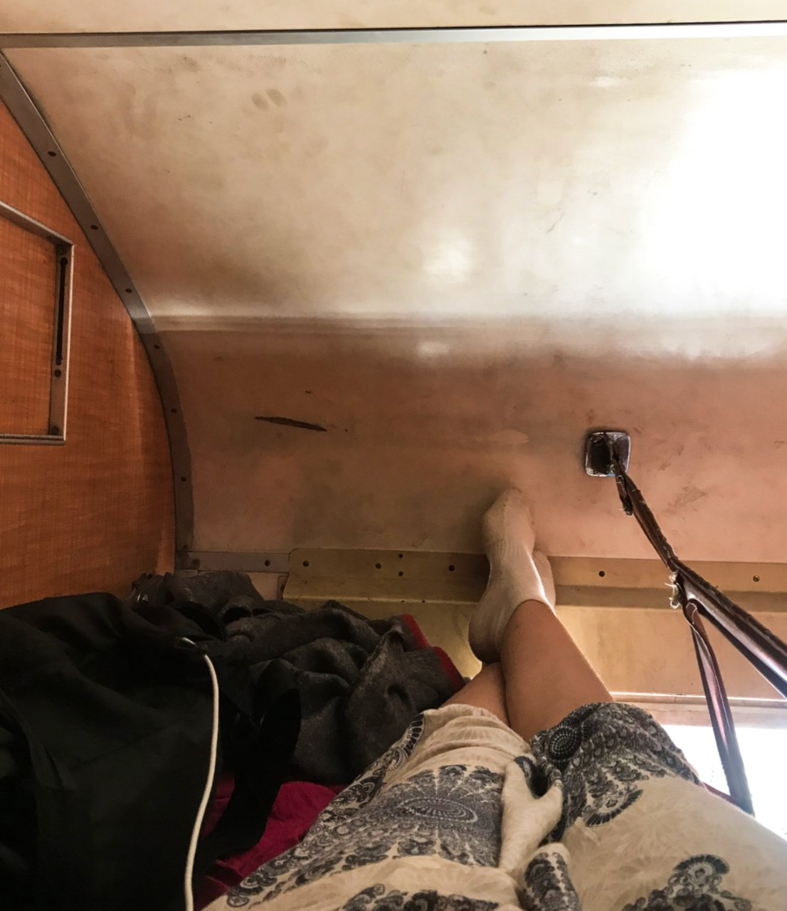 The huge space of my first-class bed, Central Line train, Kigoma to Dar es Salaam, Tanzania - Experiencing the Globe (8)
