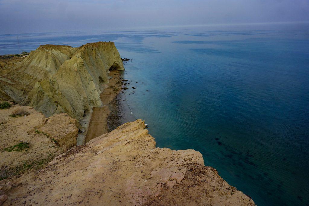 The view of the Persian Gulf, Hormuz, Iran