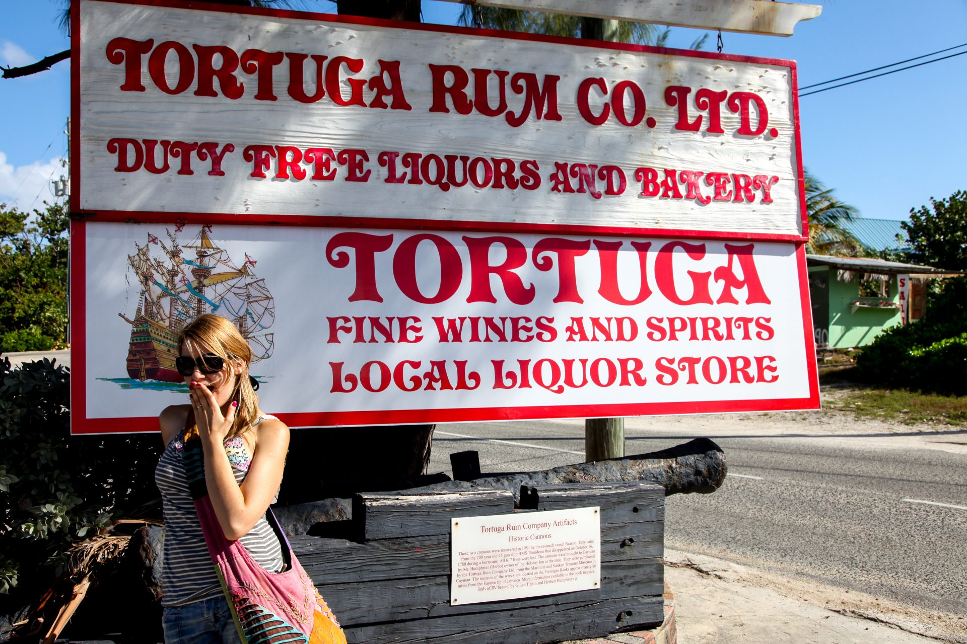 Tortuga rum factory Cayman Islands