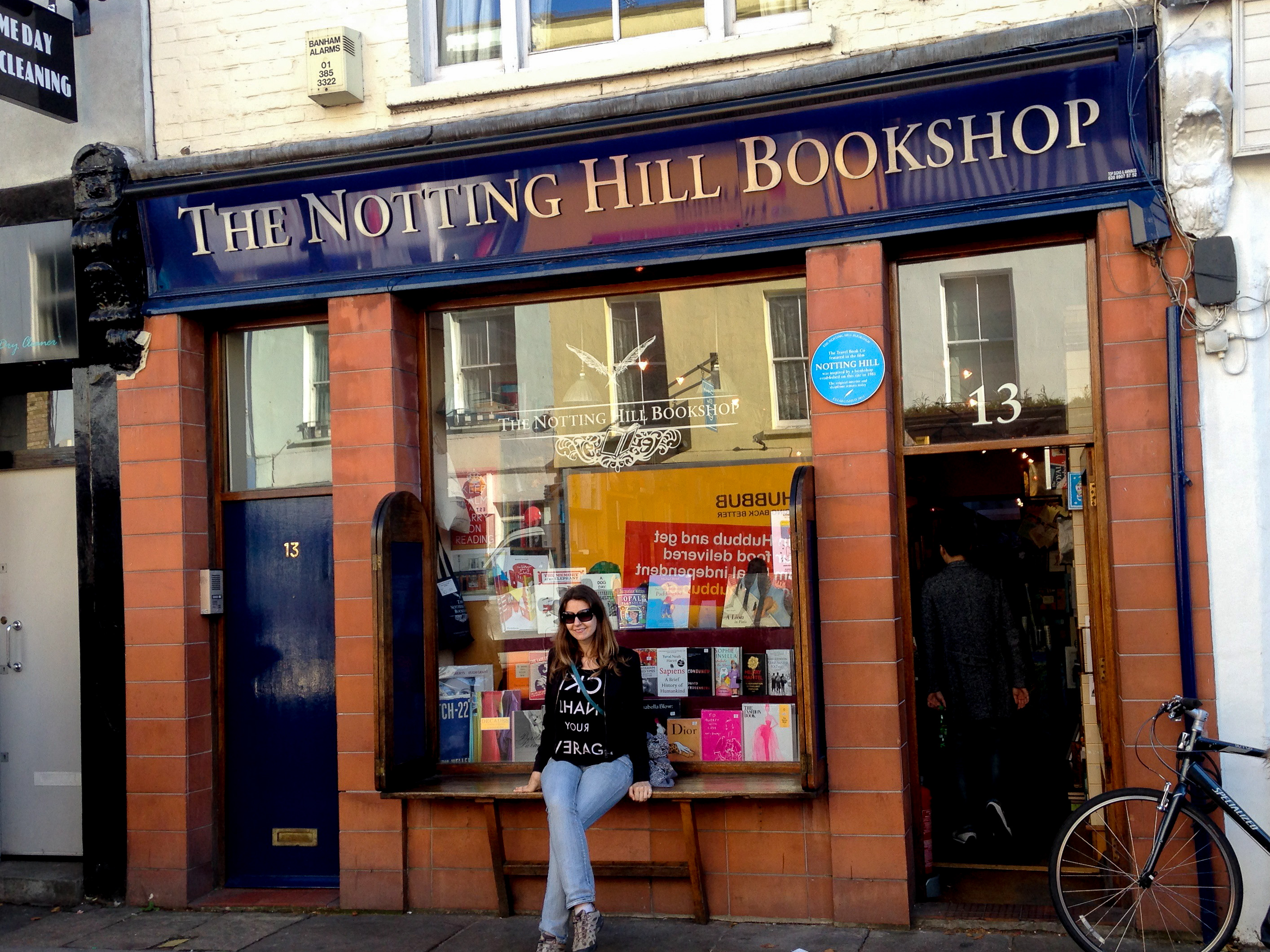 Travel bookstore Notting Hill London
