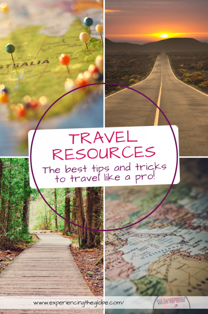 Looking for travel resources? Here're are the best travel tips and tricks I've learnt after years going round the world. Everything you need to know to travel like a pro: all the steps on how to plan a trip, the best travel tips, the top rookie mistakes (and how to avoid them), my greatest travel hacks, and a list with all packing essentials – Experiencing the Globe #TravelResources #TravelTips #TravelHacks #TravelTricks #TravelLikeAPro #HowToPlanATrip #PackingEssentials