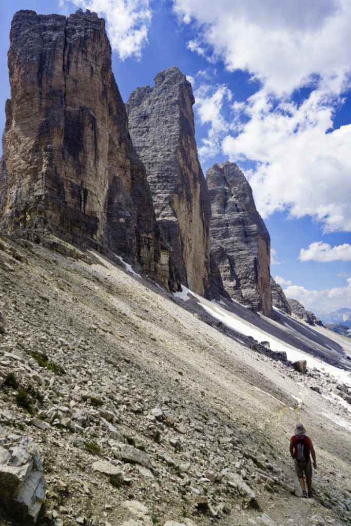 Tre Cime, Dolomites, Italy - Experiencing the Globe